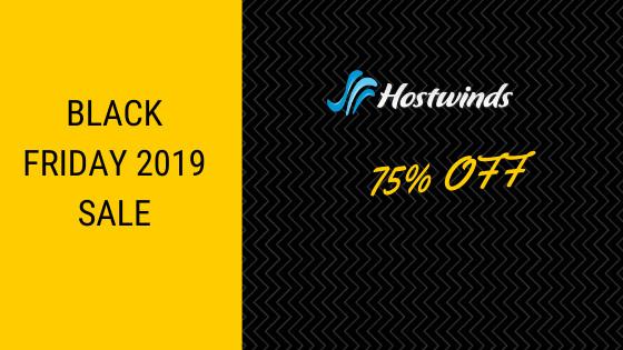 HostWinds Black Friday 2019 Sale