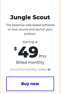 Jungle Scout Normal Pricing
