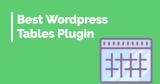 Best WordPress Tables Plugin
