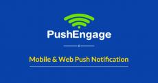 PushEngage Coupon Codes 2020: Flat 20% OFF + 15 Days Free
