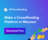 WP Crowdfunding Coupon Codes 2020:Flat 20% OFF